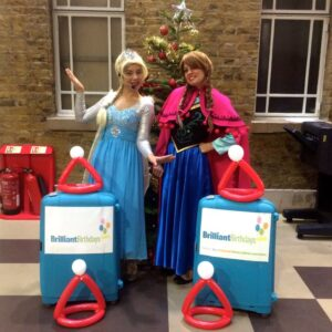 Frozen Sisters Christmas Party Entertainment
