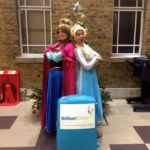 Frozen Sisters Christmas Party Hosts