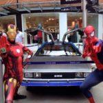 Ironman & Spiderman Party Fun
