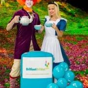 Mad Hatter & Alice In Wonderland Themed Kids Party