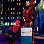 Spiderman & Ironman Lookalike Party