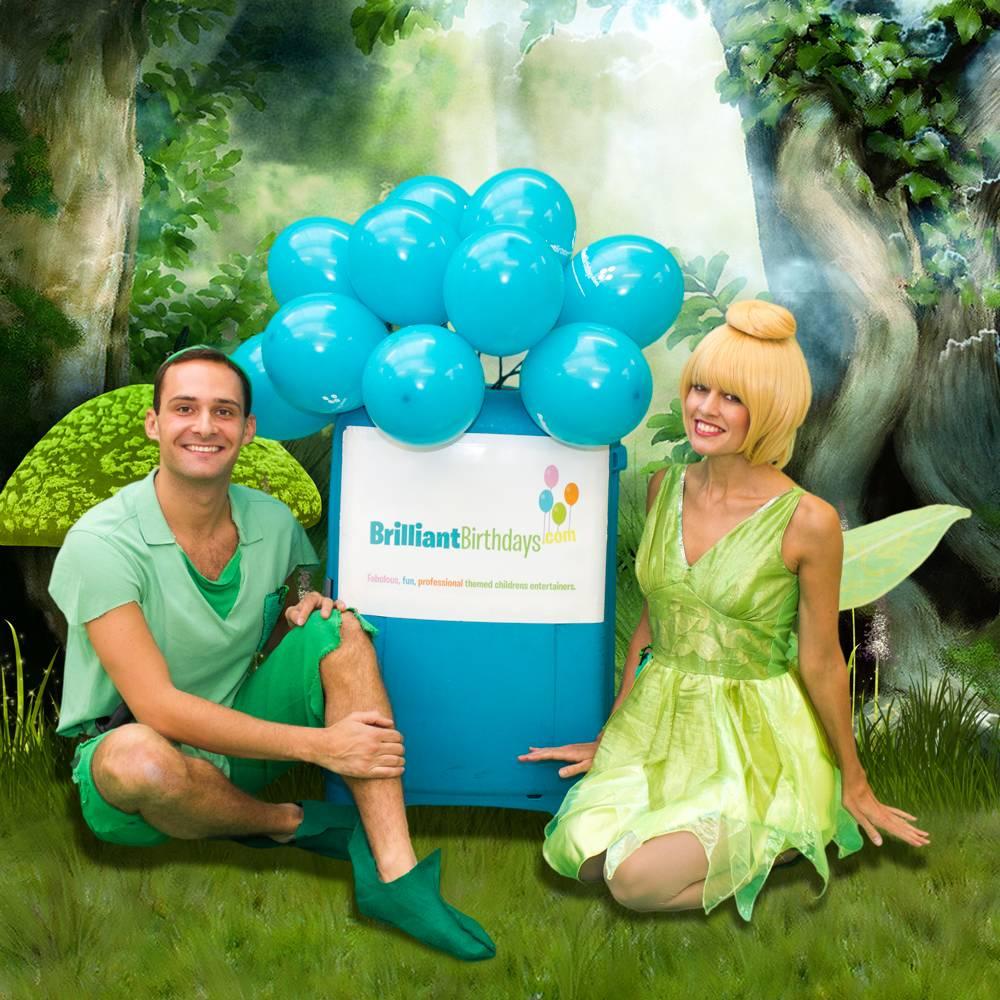 Tinkerbell & Peter Pan Lookalike Party