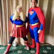 Superman & Woman Duo Party Hosts London