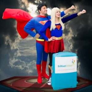 Superman & Supergirl Lookalike Party