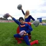 Superman and Supergirl Lookalike Kid's Entertainers