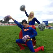 Superman and Supergirl Lookalike Kid's Entertainers