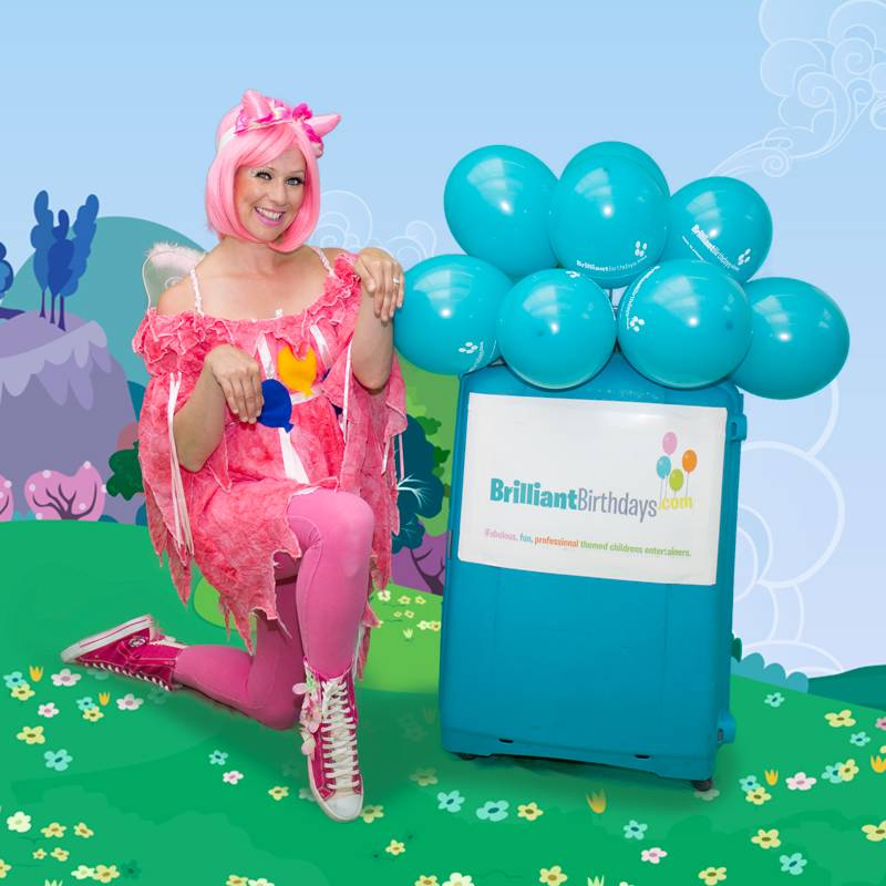 Pinkie Pony Party Themed Party Entertainer London