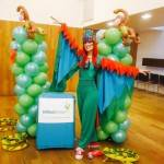 Parrot Wildlife Themed Party Entertainer London