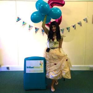 Princess Belle Lookalike Party London