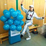 Spacewoman kids party entertainment