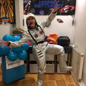 Space Party Kids party Host London