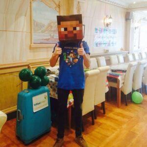 Minecraft Kid's Entertainer London