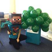 Minecraft Party Host London