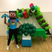 Minecraft Party Host London