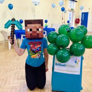 Minecraft Kid's Birthday Party