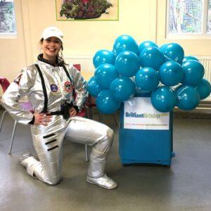 Spacewoman Party Entertainer London