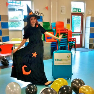 Amber Witch Party Entertainer London