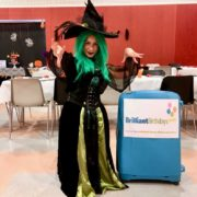Halloween Wacky Witch Party Entertainer