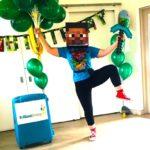 Minecraft Kids Party Host London