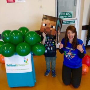 Minecraft Themed Party Entertainers