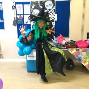 Wacky Witch kids Party London
