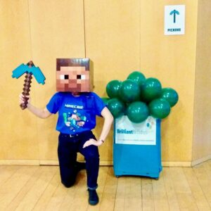 Minecraft Children's Party Hosts