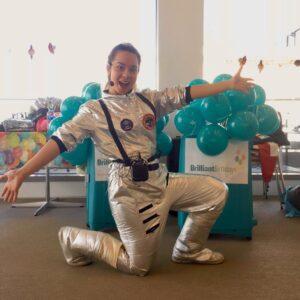Spacewoman Children's Party Entertainer