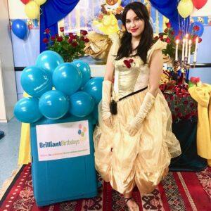 Princess Belle Lookalike Party Host