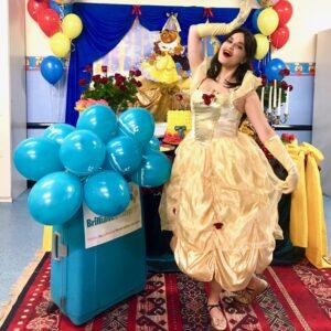 Princess Belle Lookalike Party Entertainer