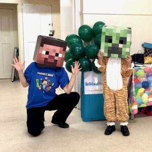 Minecraft Party Entertainment