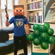 Children's Minecraft Party