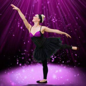 Ballerina Entertainer striking a position