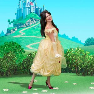Princess Belle Themed Party Entertainer London