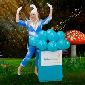 Smurf Themed Kids Party