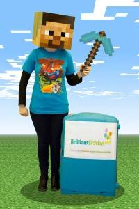 Minecraft Themed Kids Party