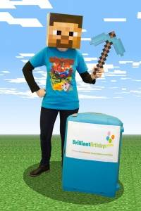 Minecraft Themed Party Entertainer London