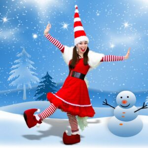 Miss Santa Themed Party Entertainer London