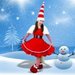 Miss Santa Themed Kids Party