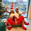 Miss Santa Duo Christmas Party