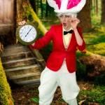 White Rabbit Alice In Wonderland Themed Kids Party
