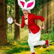White Rabbit Alice In Wonderland Entertainment