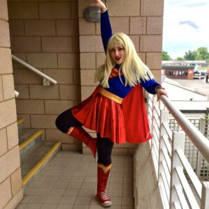Supergirl Party Host
