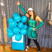 Cheerleader Party Host London