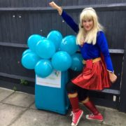 Supergirl Party Host London
