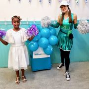 Cheerleader Kids Party Fun