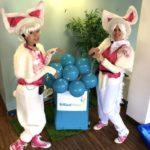 Bunny Duo Fun London