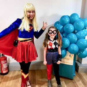 Supergirl Party Entertainment