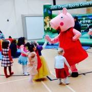 Peppa Pig Mascot Themed Party Entertainment