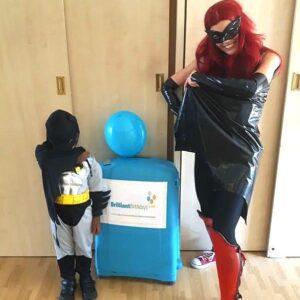 Batwoman Lookalike Superhero Party Entertainer