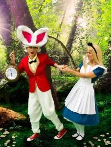 White Rabbit & Alice Party